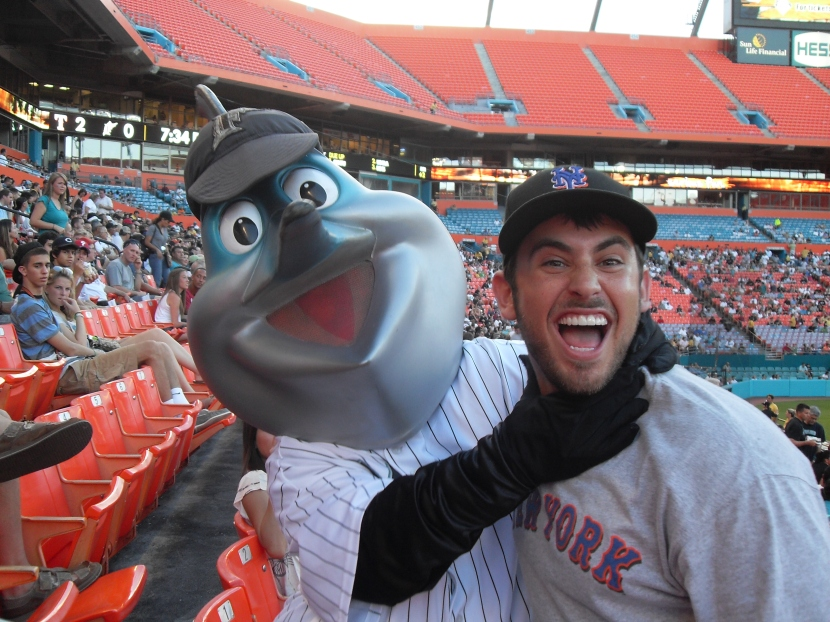 Blake and Billy the Marlin